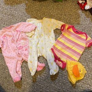 4 Piece Ducky Newborn Baby Set 🦆